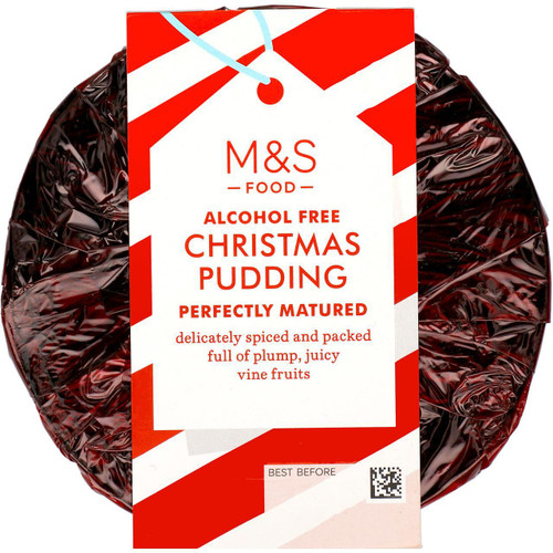 M&S Alcohol Free Christmas Pudding 6 Month Matured 454g