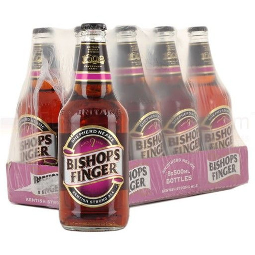 Shepherd Neame Bishops Finger Strong Ale 500ml x 6