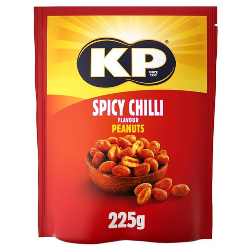KP Nuts Spicy Chilli 225g