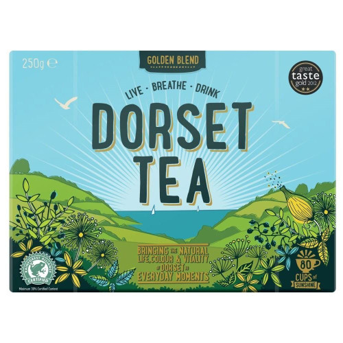 Dorset Tea Original 80 bags 250g