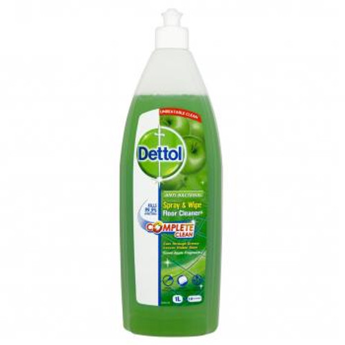 Dettol Spray & Wipe Apple Floor Cleaner 1l