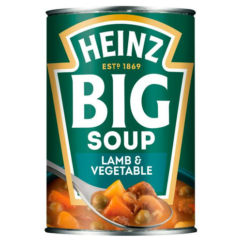 Heinz Big Soup Lamb & Veg 400g