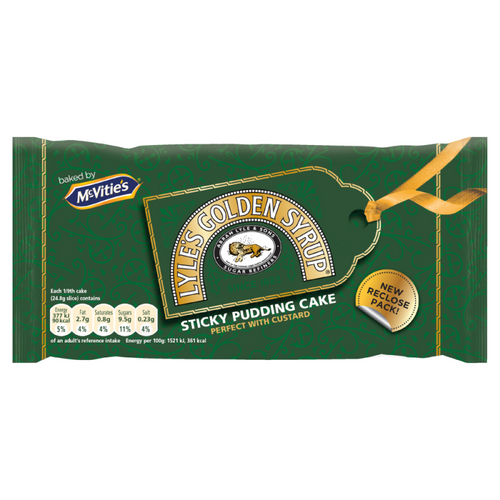 McVities Lyle's Golden Syrup Sticky Pudding Cake