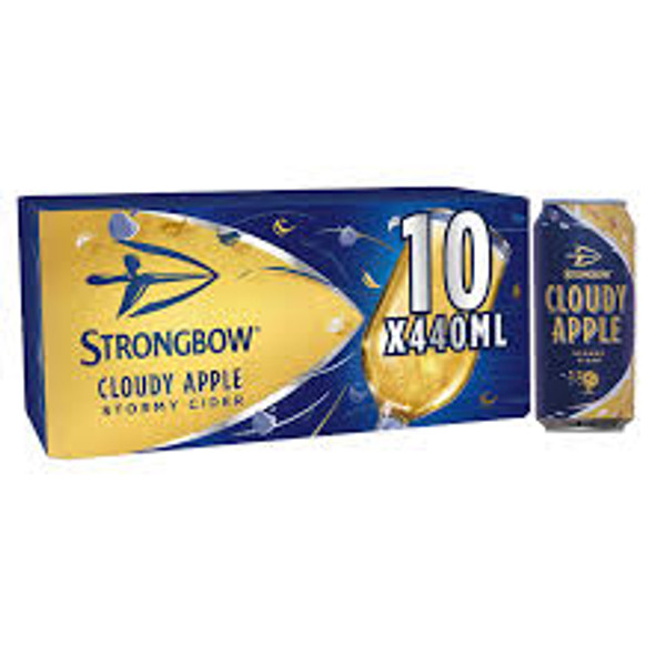 Strongbow Cloudy Apple 10 Pack 440ml