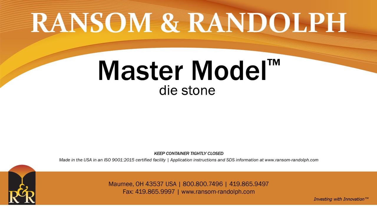 Master Model™ die stone - 50 lbs.
