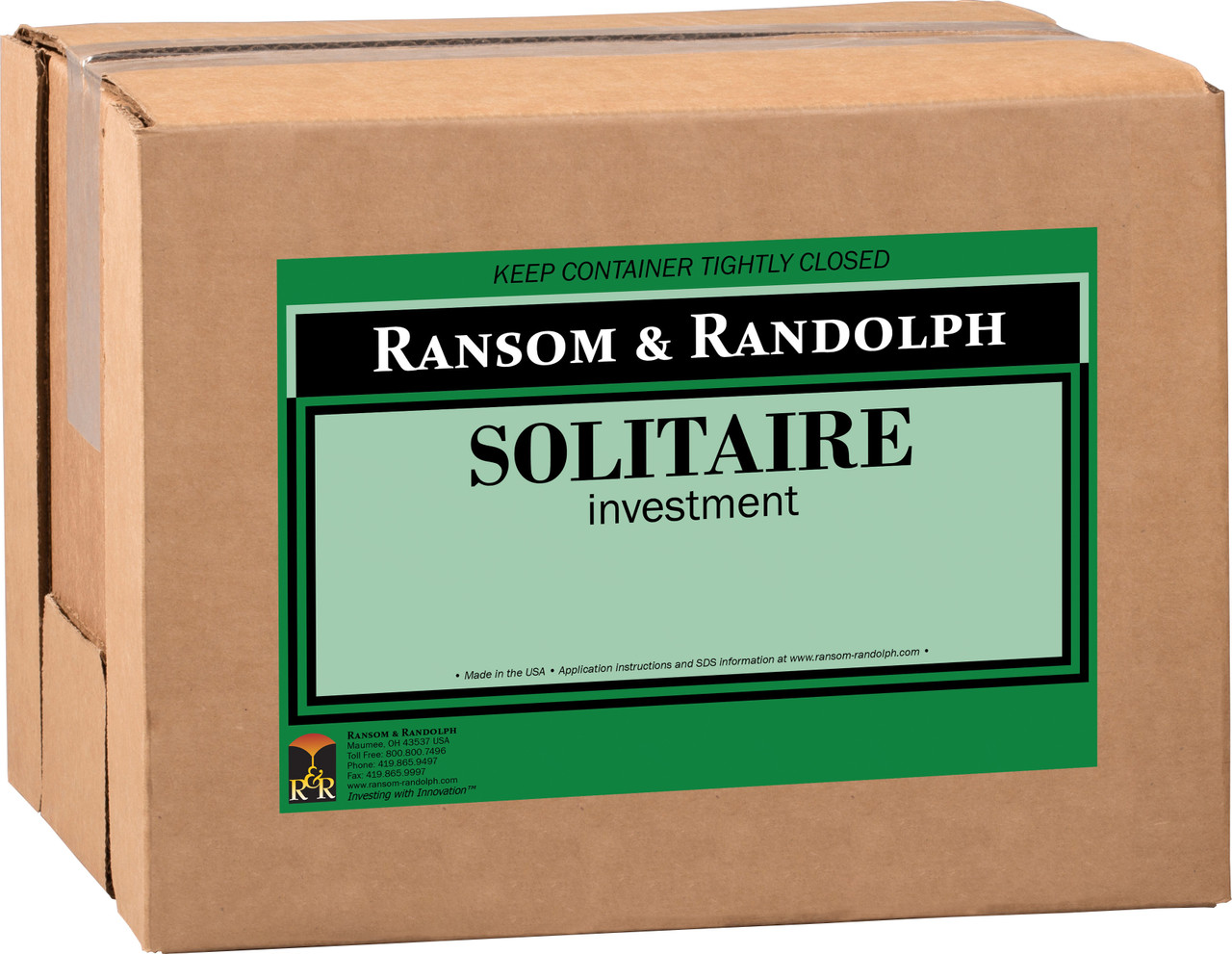 Solitaire investment - 50 lbs.