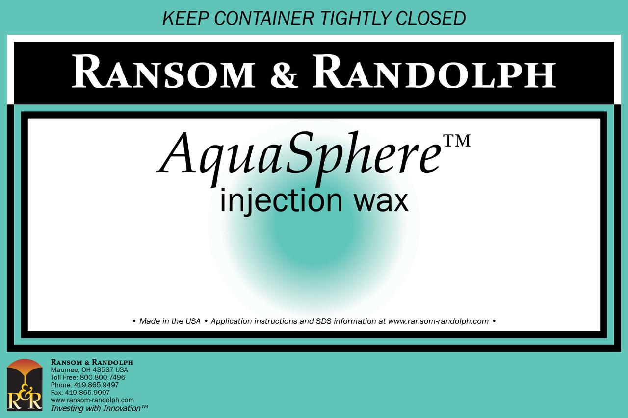 AquaSphere™ wax - 44 lbs.
