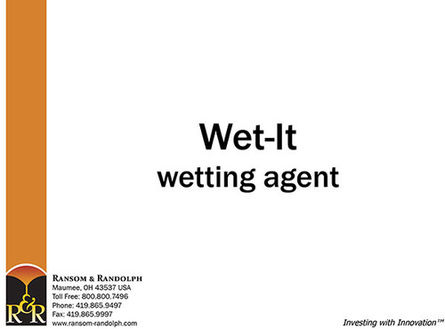 Wet-It wetting agent - 1 gallon