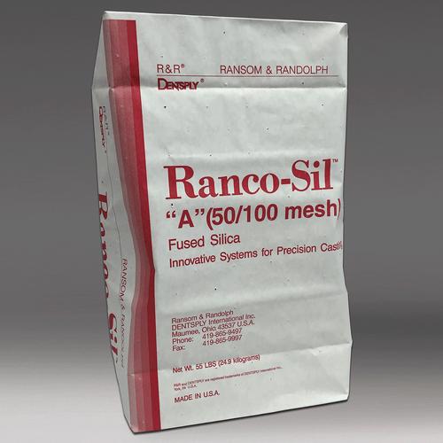 Ranco-Sil™ A (50/100 mesh) fused silica sand - 55 lbs.