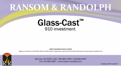 Glass-Cast™ 910 investment - 50 lbs.