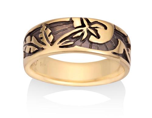 Nature Rings | David Virtue Jewelry