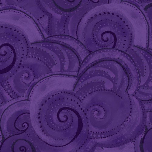 Sea Goddess Swirls Puple