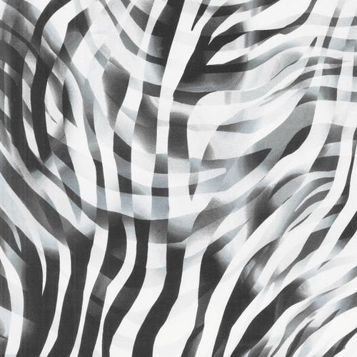 """108"""" Bright Zebra Skin B & W"""