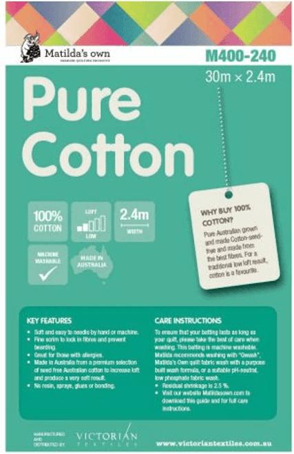 Pure Cotton Wadding