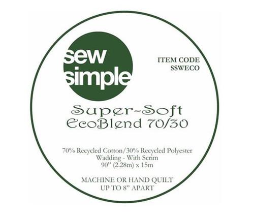 Eco Blend 70/30  Wadding