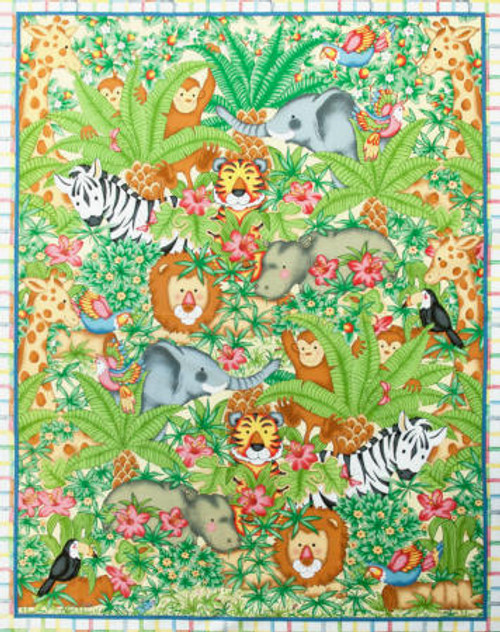 Animal Jungle Panel