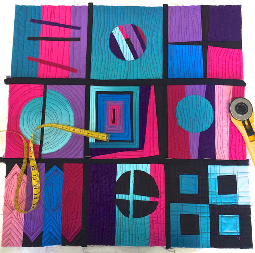 Modern Patchwork Evening Course £80 (£20 deposit)