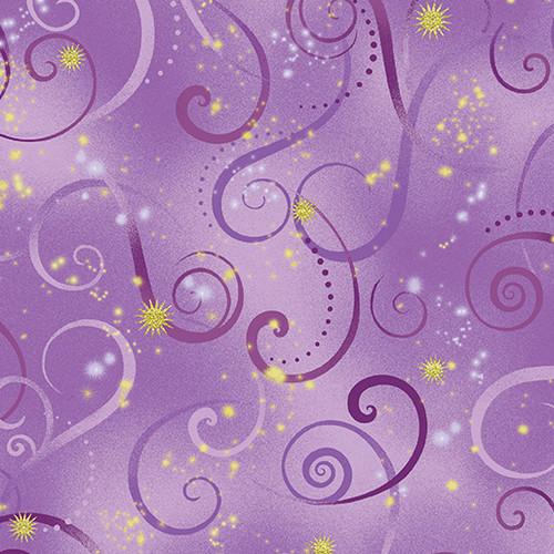 Swirling Sky Violet 8500M06B