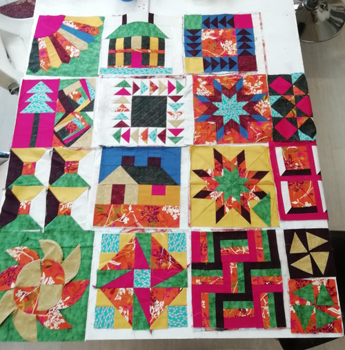 Patchwork Course £ 70 (£20 deposit)