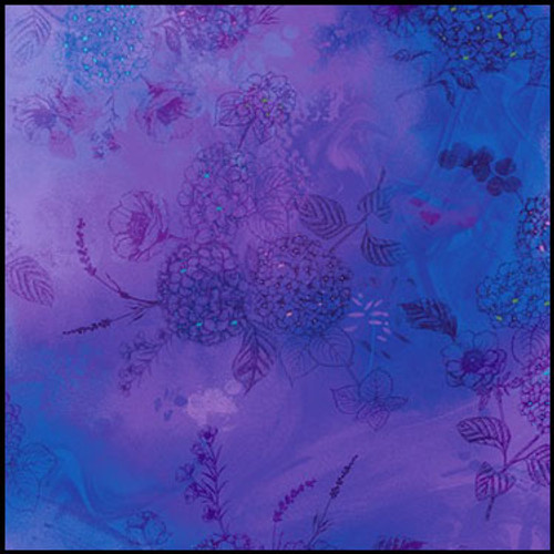 Violet Floral sketch