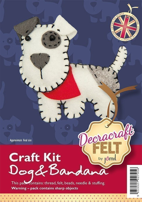 Felt Bandana Dog Kit