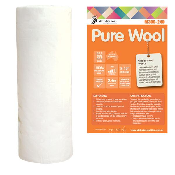 Pure Wool Wadding