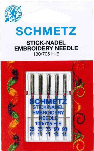 Schmetz Embroidery Mixed