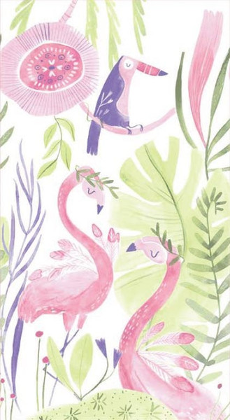 Pink Paradise Panel