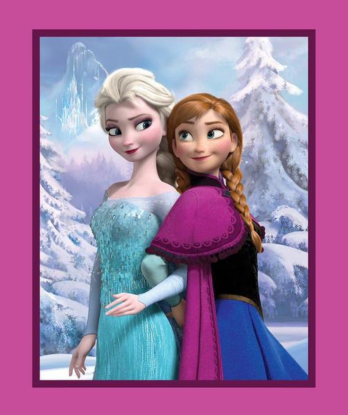 Anna & Elsa Panel