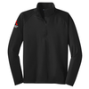 Mens Stretch 1/2 Zip