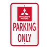 Parking Only Sign