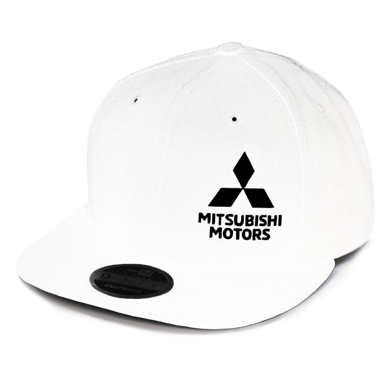 New Era Snapback Hat B&W