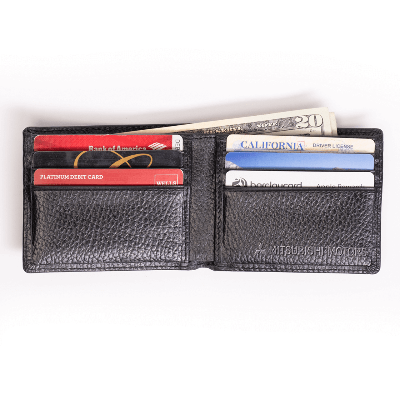 Pebble Leather Bifold Wallet