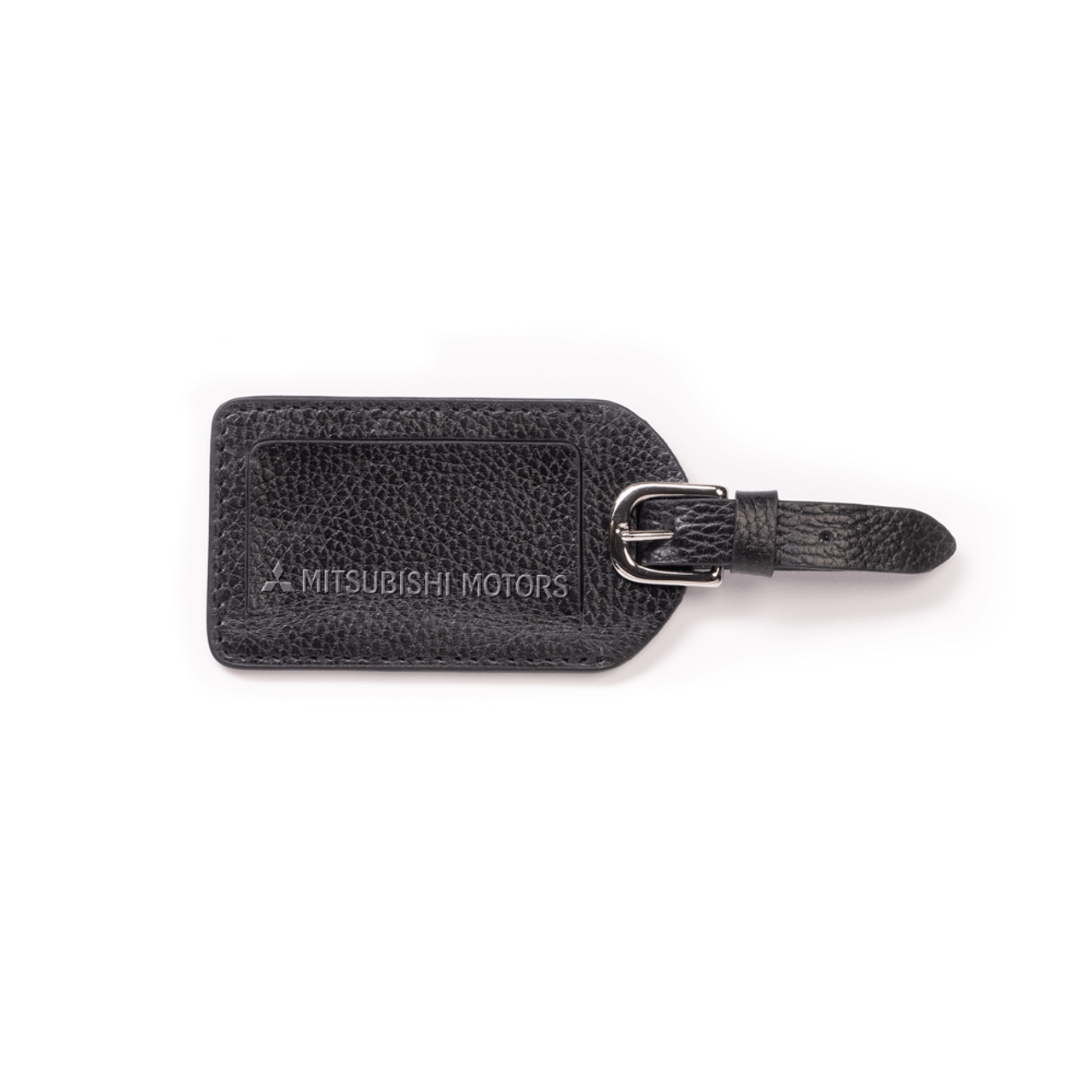 Pebble Leather Luggage Tag