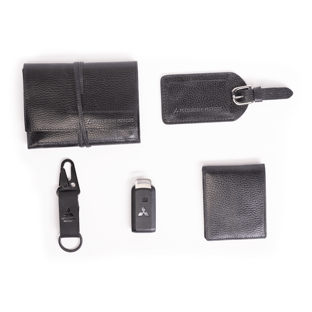 Pebble Leather Tech Roll Up