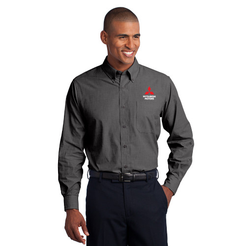Easy Care Button-Up Shirt