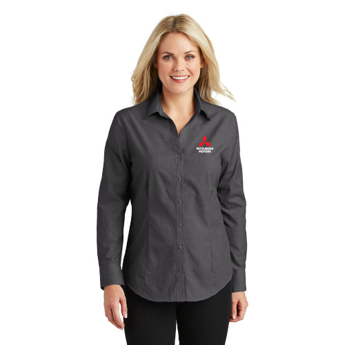 Women's Easy Care Button-Up Shirt