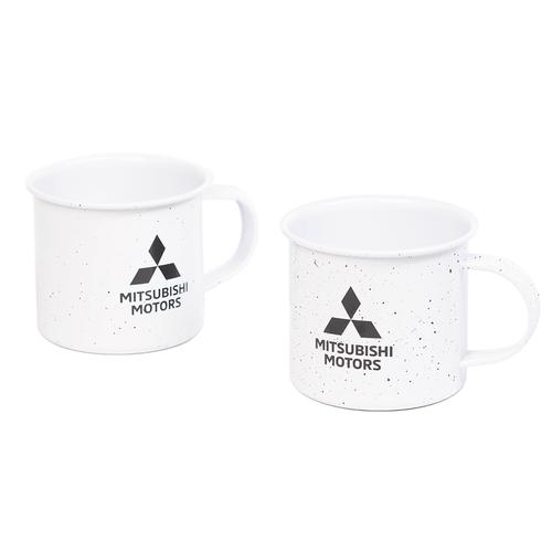 Do Not Microwave Tin Coffee Mug Set