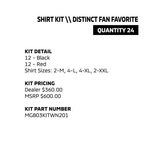 Shirt Kit - Distinct Fan Favorite