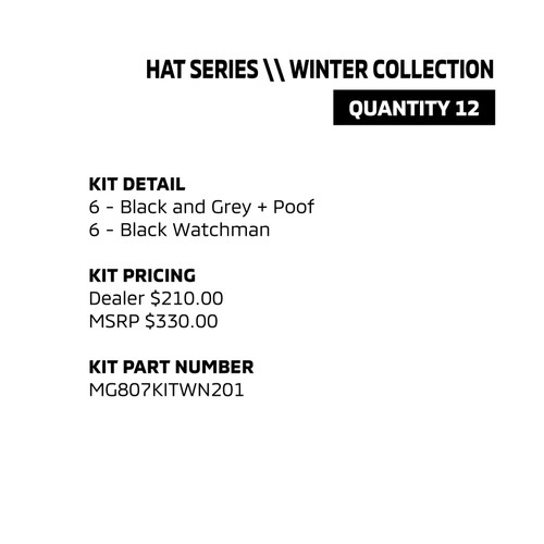 Hat Series - Winter Collection