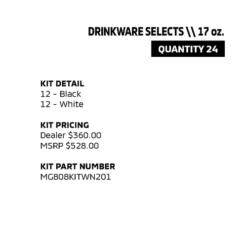 Drinkware Selects - 17oz