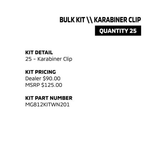 Bulk Kit - Karabiner Clip