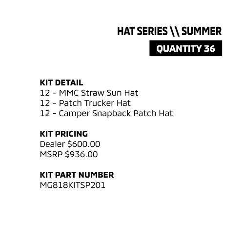 Summer Hat Series
