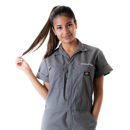 Short Sleeve Coveralls-Tall