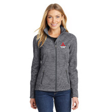 Ladies Digi Fleece Zip Jacket
