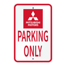 Mitsubishi Parking Only