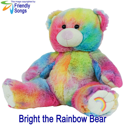 8e870f81d06 YOUR SONG - Personalized Singing Stuffed Animal Plush with YOUR Song -  Personalized Friendly Songs