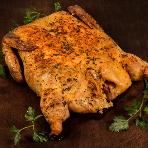 Earl's Louisiana Cajun Boudin Stuffed Deboned Chicken