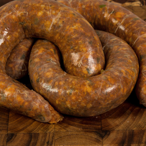 Fresh Pork Sausage with Garlic and Green Onion