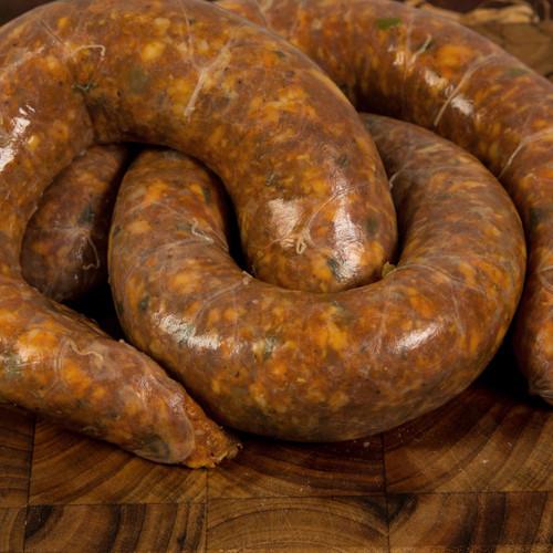 Fresh Rib Eye Sausage